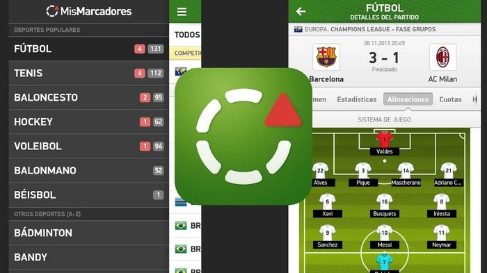 super popular encanto de costo ofertas exclusivas Mis marcadores: sigue todos tus resultados del fútbol en vivo