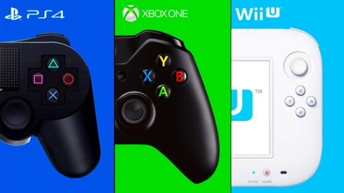 PS4 vs Xbox One vs Wii U