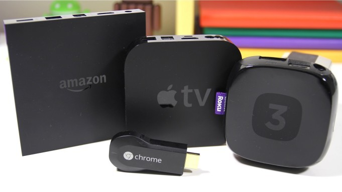 Roku 3 vs. Apple TV vs. Chromecast