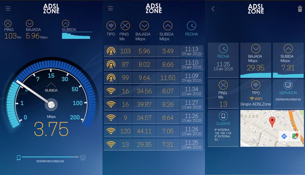 Test de Velocidad para Android
