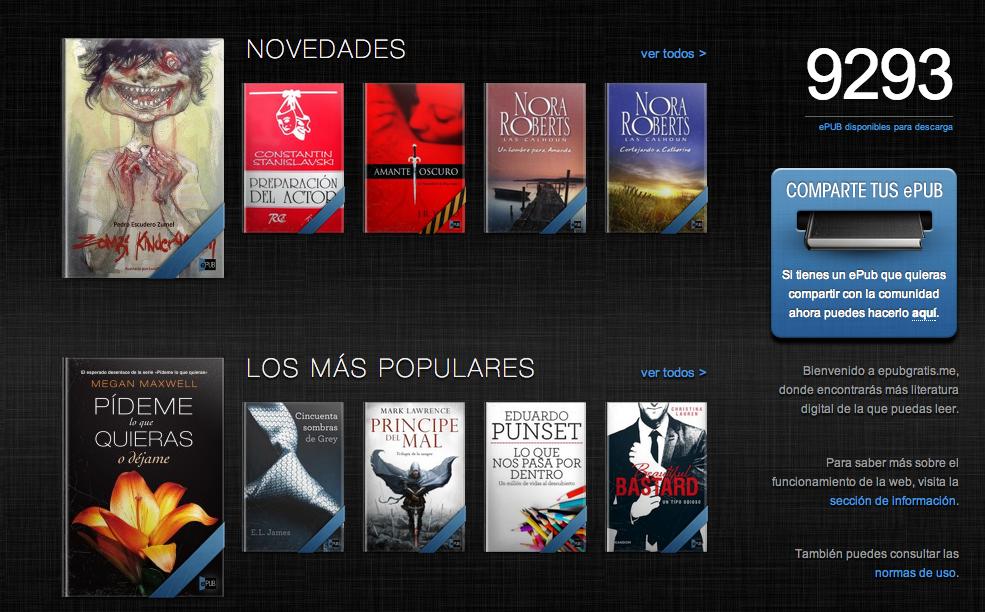Sony libros gratis
