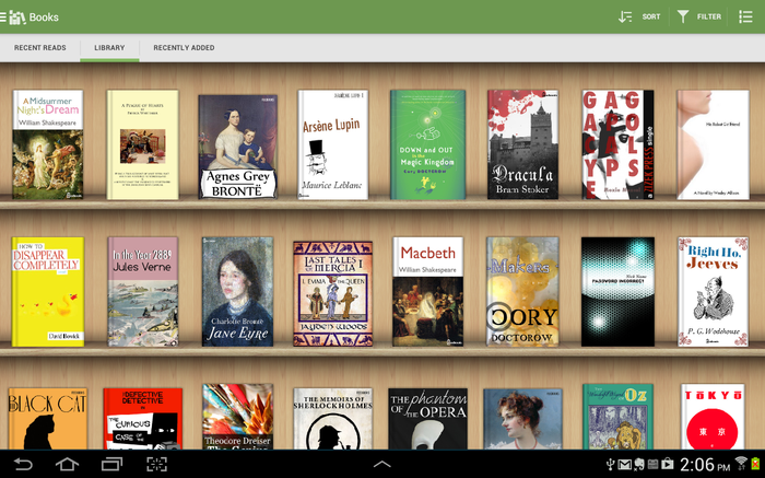 Libros gratis Android