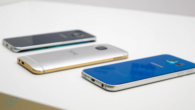 Samsung Galaxy S7 vs HTC One M10
