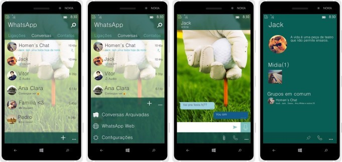 WhatsApp Windows 10 Mobile