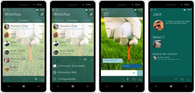 WhatsApp Windows 10 Mobile