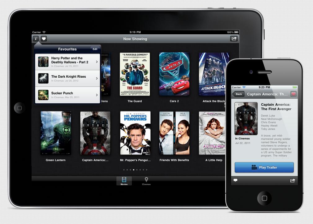 iPad películas series