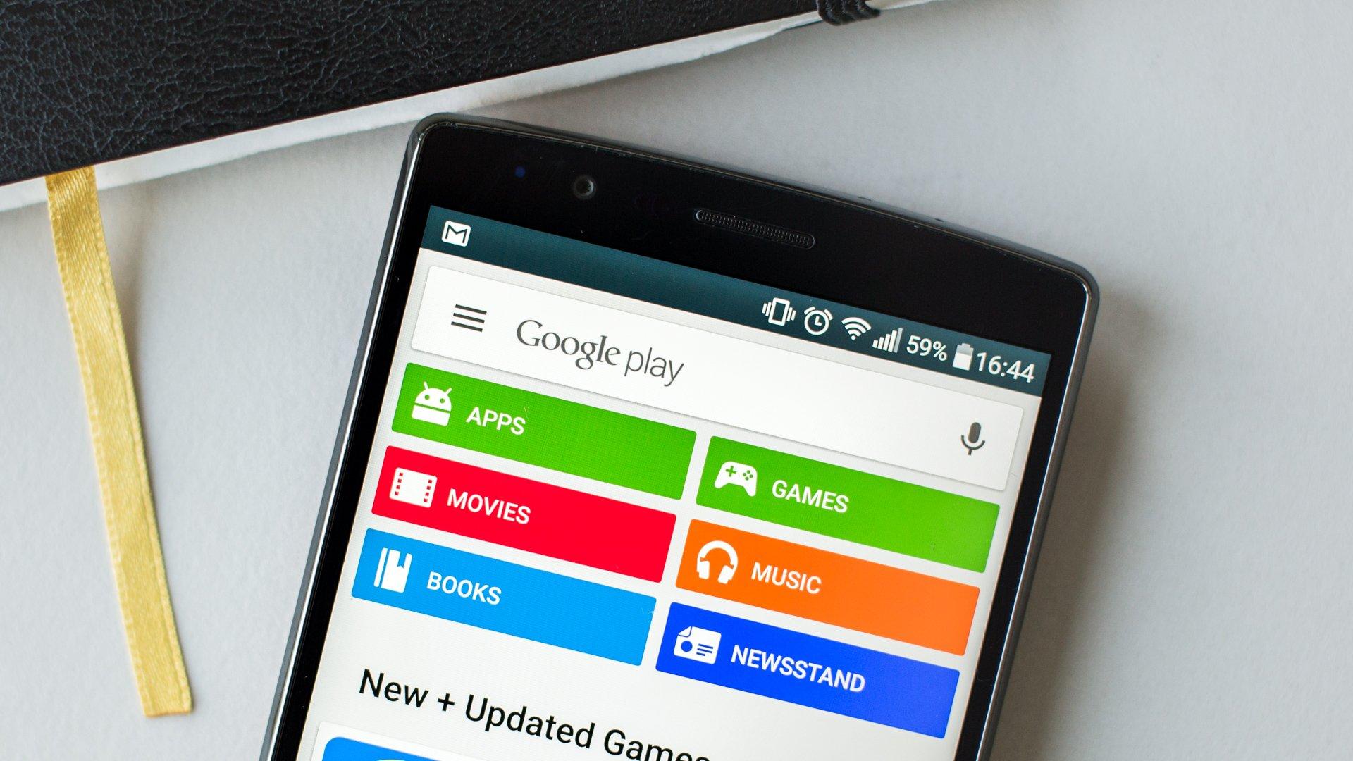 descargar, instalar y actualizar google play store
