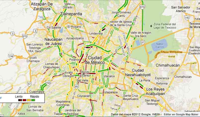 hacer viajes app google maps