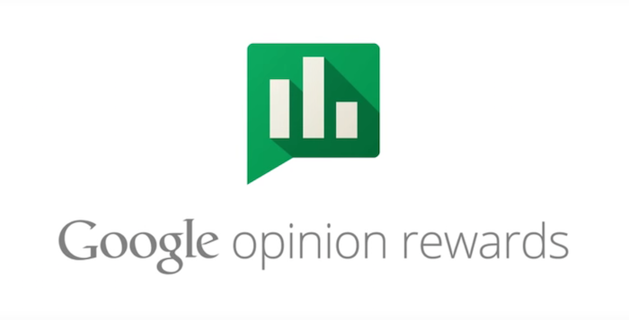 Google Opinion Rewards ganar dinero