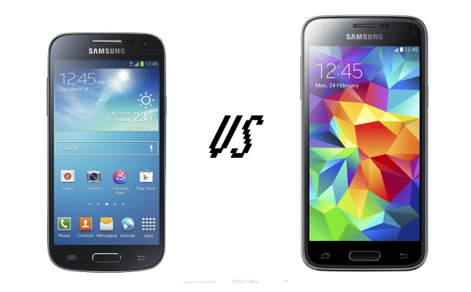 Samsung Galaxy S4 Mini vs Samsung Galaxy S5 Mini
