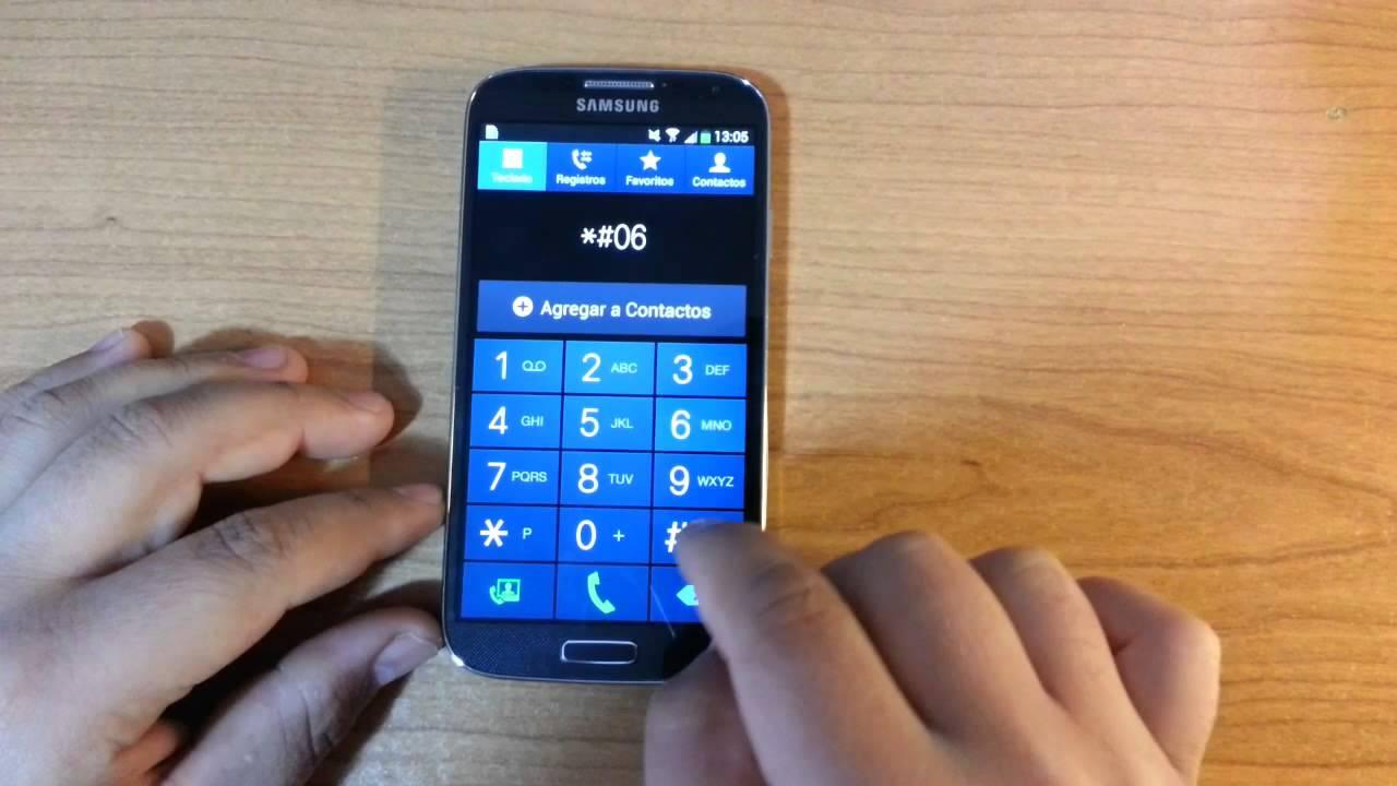 Como Saber Imei En Samsung S9