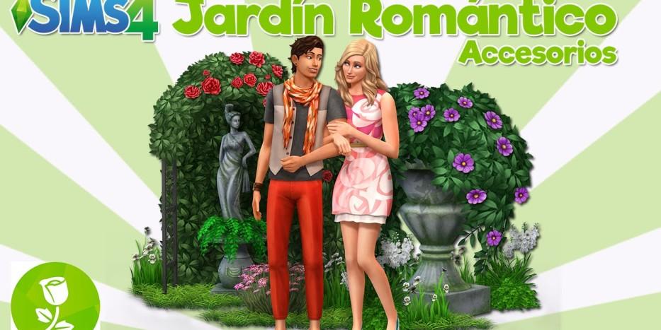 Sims 4 Jardín Romántico