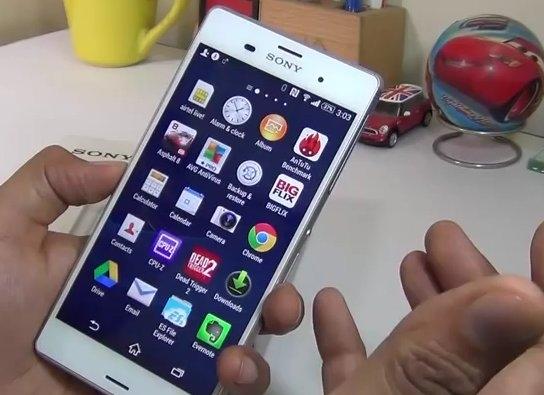 Sony Xperia Android 6.0.1 Marshmallow