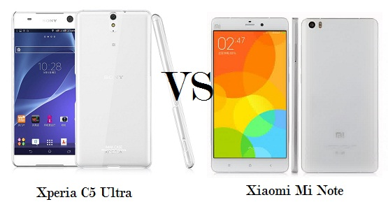 Sony Xperia C5 Ultra vs Xiaomi Mi Note