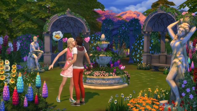 The Sims 4 Romantic Garden