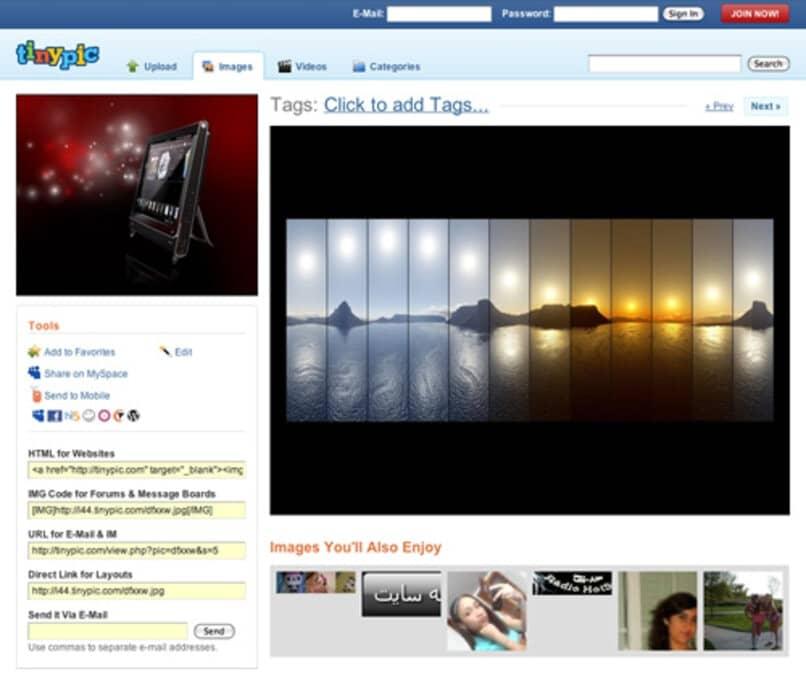 contenidos multimedia videos imagenes
