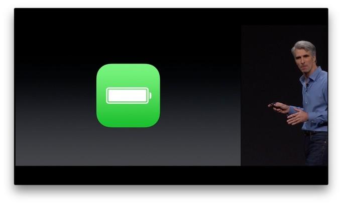iOS 9 batería