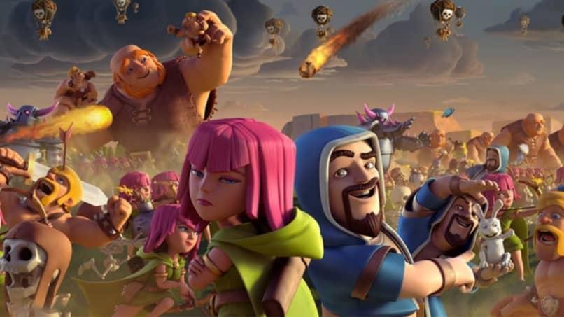 clash of clans personajes destacados