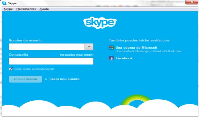 crear cuenta skype facilmente