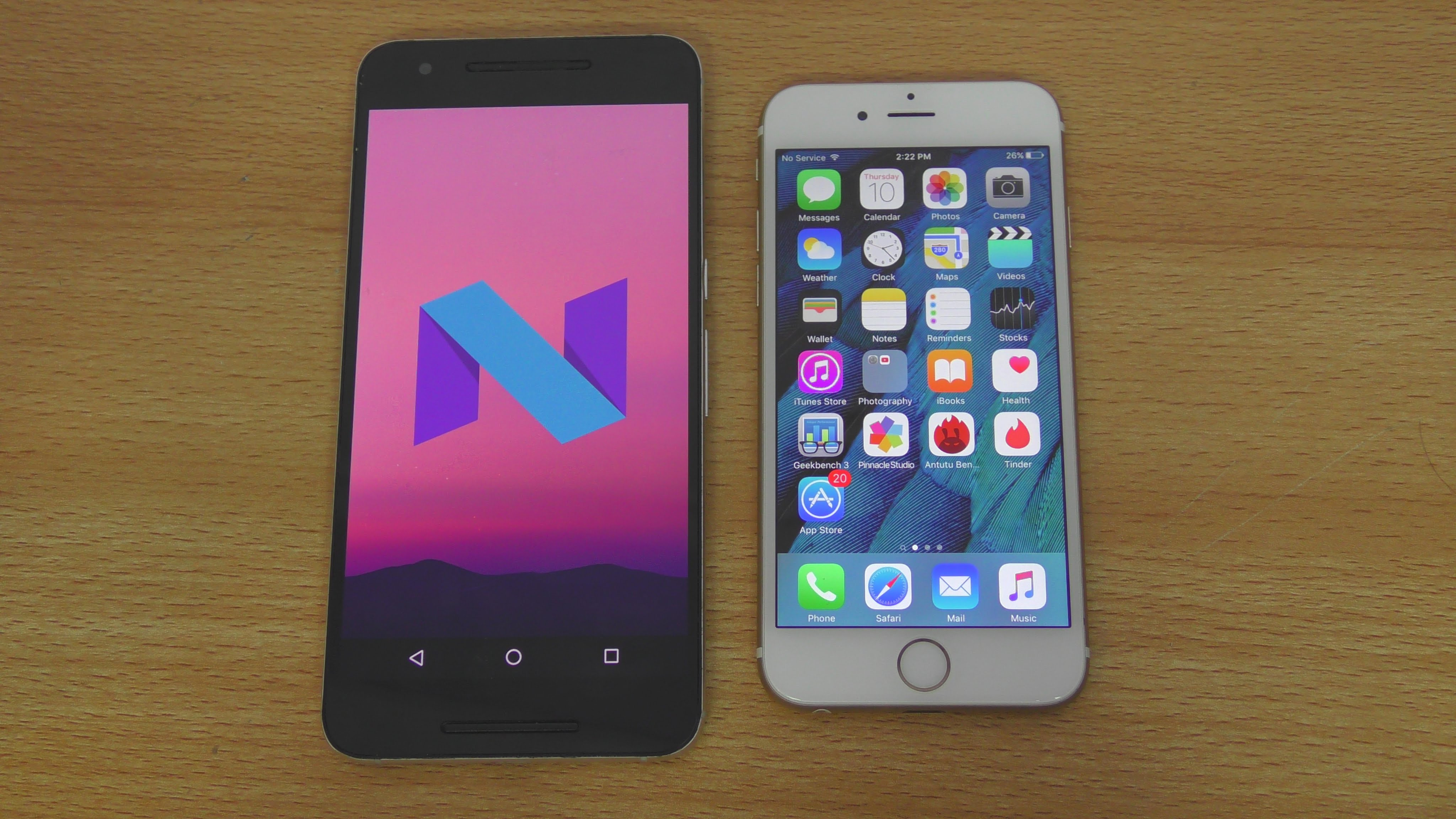 Android N vs iOS 9.3