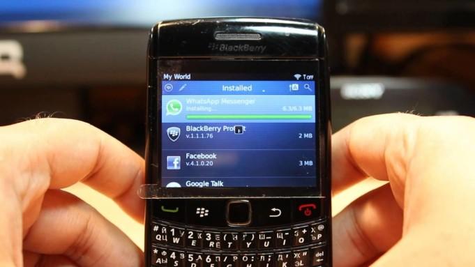 Blackberry craps
