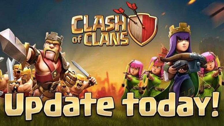 Clash Of Clans actualización marzo abril