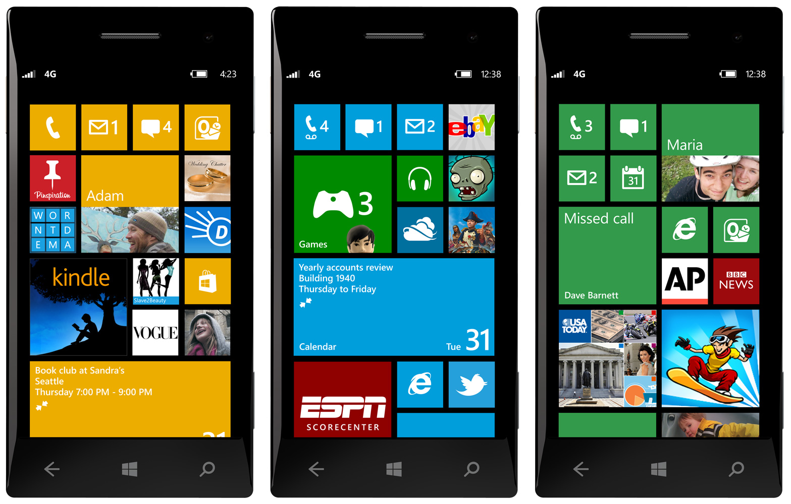Microsoft Lumia Windows Phone 1