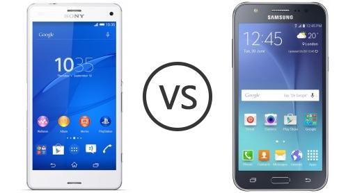 Samsung Galaxy J7 vs Sony Xperia Z3 3