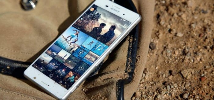 Sony Xperia Z5 capturas de pantalla