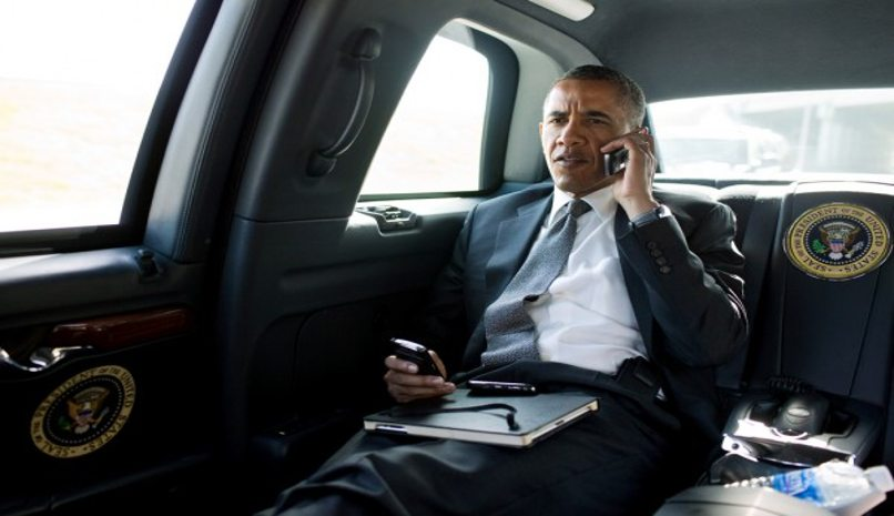 obama utiliza blackberry