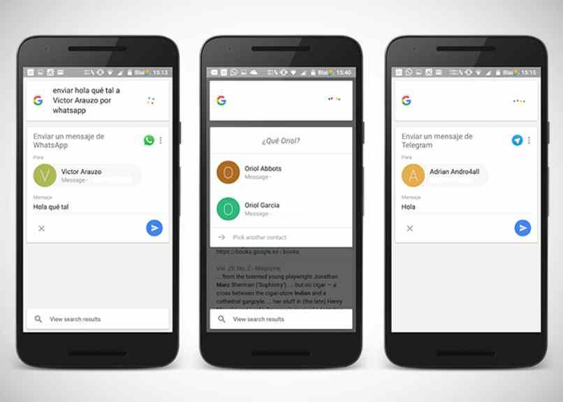 telefonos celulares google
