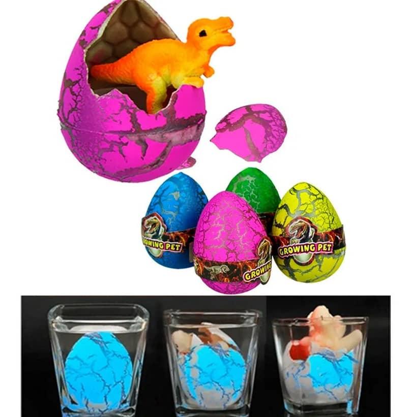 juguete huevo de dinosaurio