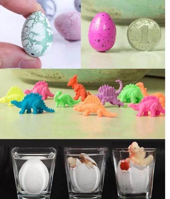 Huevo dinosaurio que crece en agua el juguete del a o for Huevo en el ano