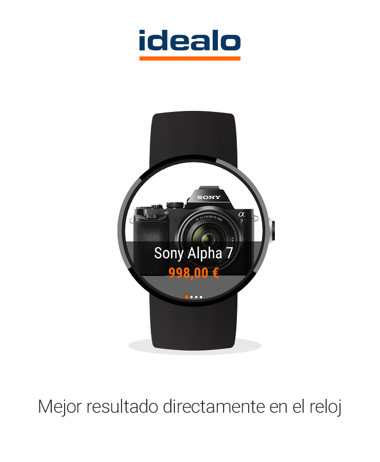 Idealo Android Wear
