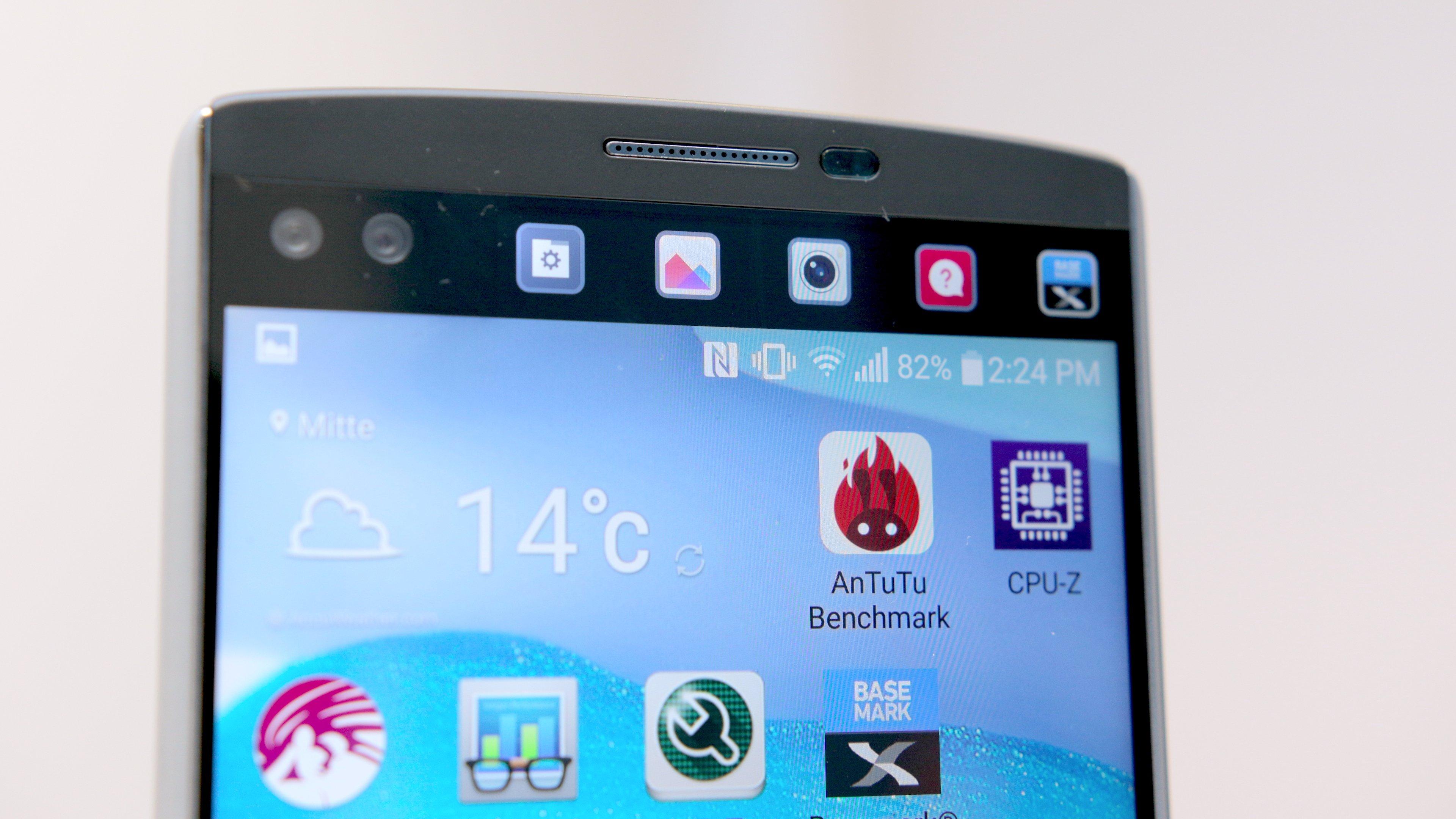 LG V10 Samsung Galaxy S6 Edge Marshmallow