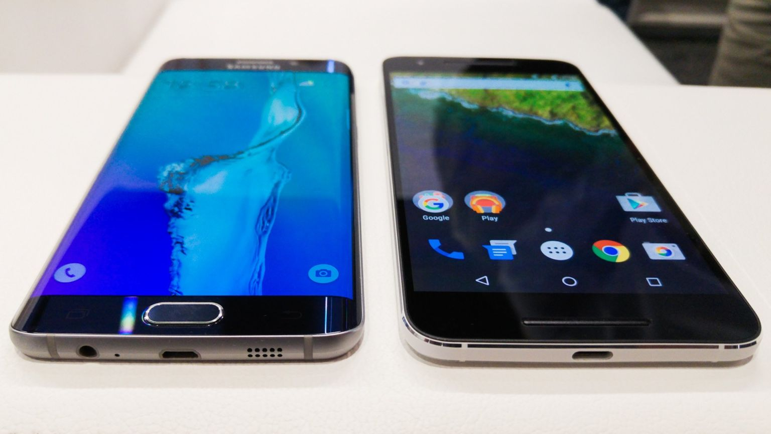 Nexus 6P vs Samsung Galaxy S7 Edge