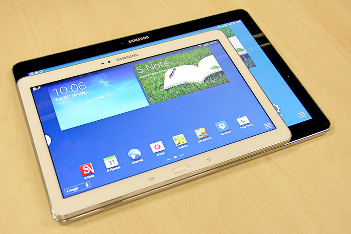 Samsung Galaxy Tab Pro 10.1 vs Galaxy Note 10.1