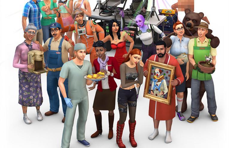 The Sims 4 Restaurant