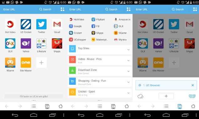 UC Browser Android 2