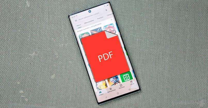 como enviar o guardar documentos de tipo PDF
