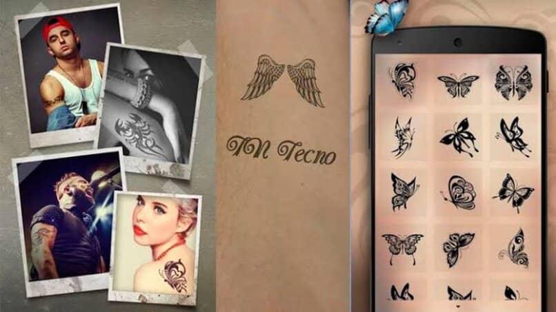 distintos tatuajes mariposa