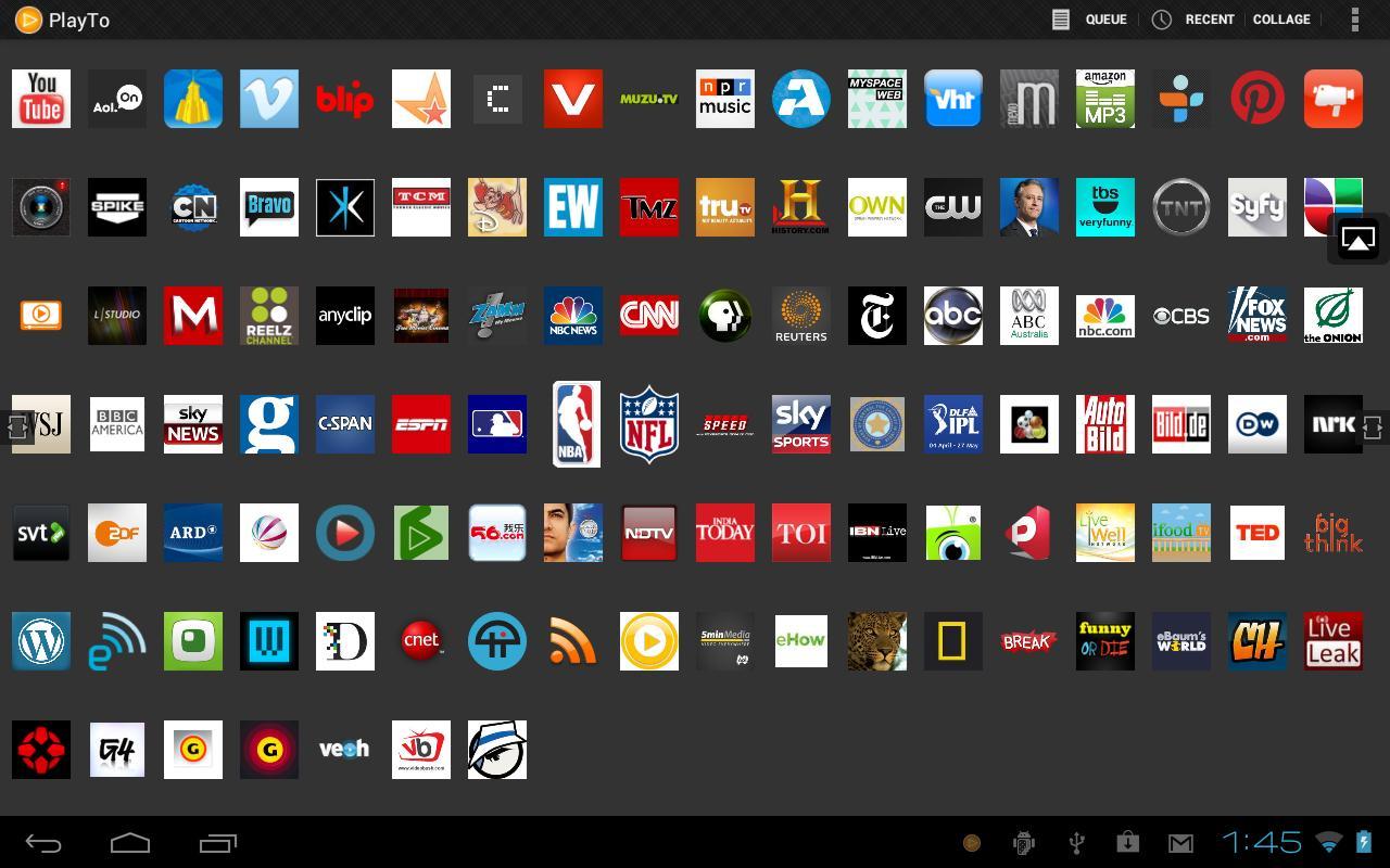 Aplicaciones TV Android 3
