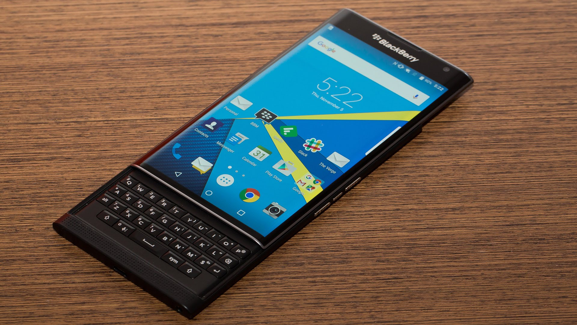 BlackBerry Priv LG G2 Marshmallow 1