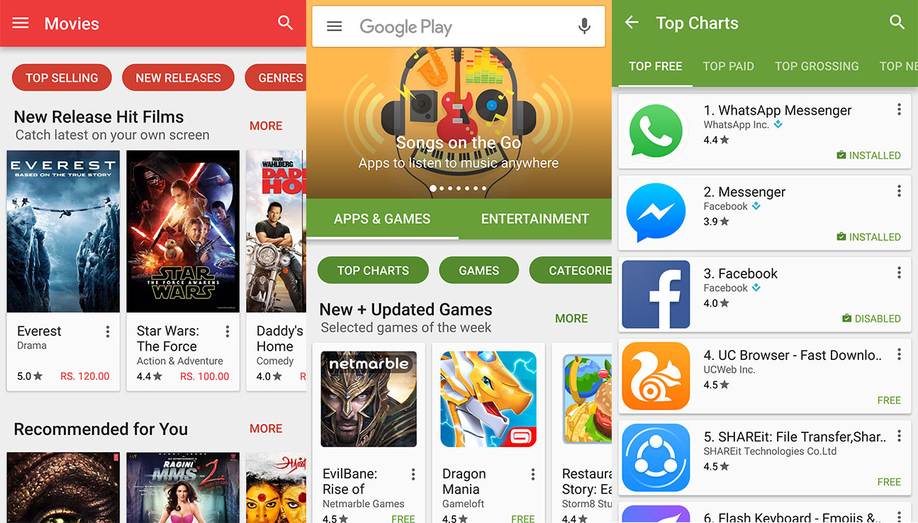 descargar e instalar Google Play Store 6.4.20 2