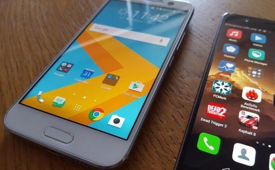 HTC 10 vs Huawei P9 2