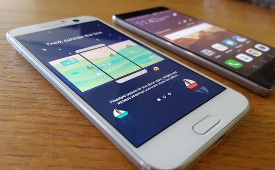 HTC 10 vs Huawei P9 4