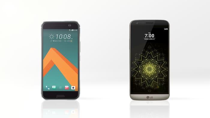 LG G5 vs HTC 10 1