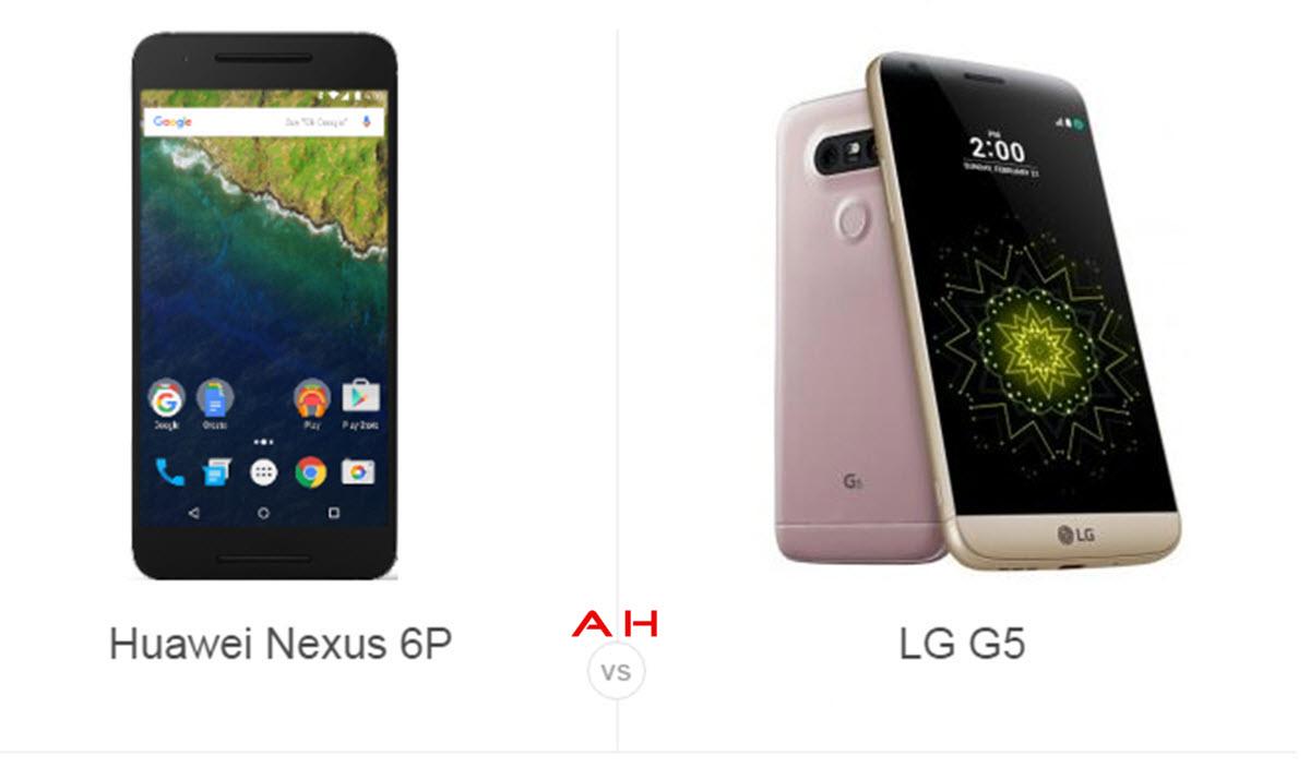 Nexus 6P vs LG G5 1