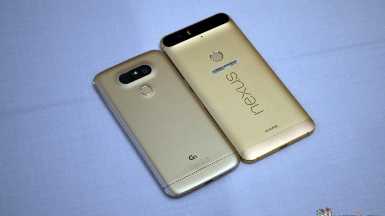 Nexus 6P vs LG G5 2