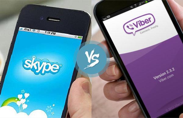 Skype vs Viber 2